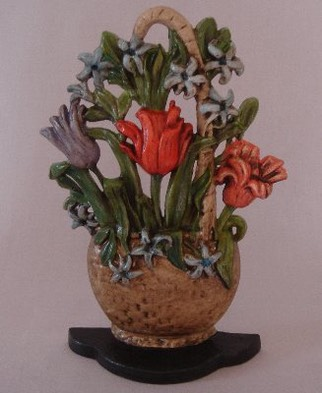 Flower basket with tulips.JPG