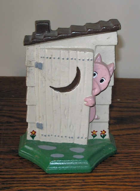 Pig in Outhouse-1